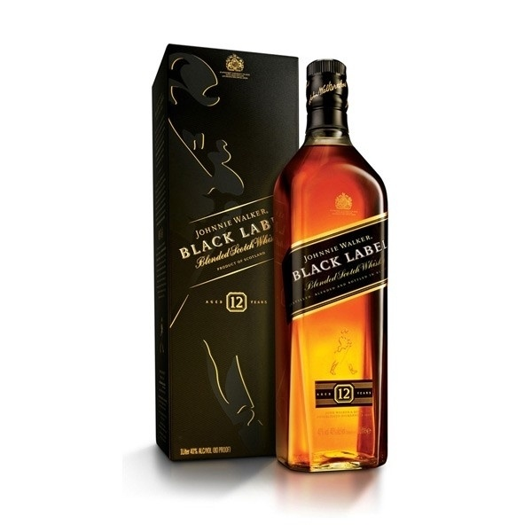 Johnnie Walker Black Label 12 years (éves) 40% pdd. 0,7L
