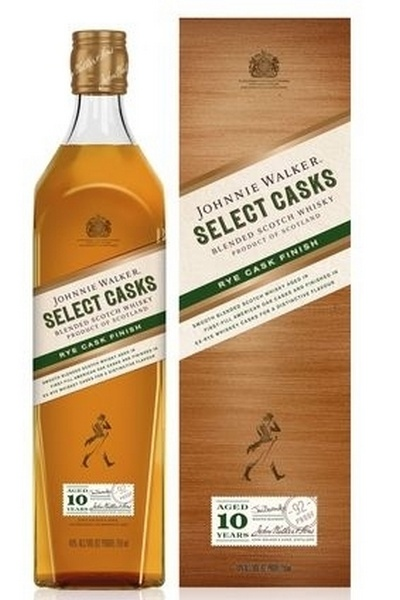 Johnnie Walker Select Cask Rye 10 years (éves) 46% pdd. 0.7L
